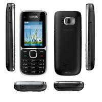 Original Nokia C2-01 3G 3.2MP Camera FM MP3 Unlocked Bar Bluetooth GSM CellPhone