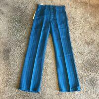 Lee Riders Boot Cut Vintage 1960's Blue Original Dead Stock Jeans size 28 NOS