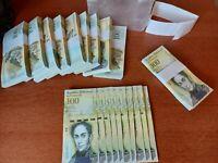 10 x Venezuela 100000 (100,000) Bolivares, 2017 UNC banknotes /currency