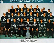 NHL1966 - 67 Toronto Maple Leafs Stanley Cup Champs Team Picture  8 X 10 Photo