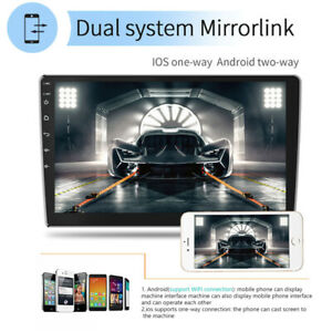 "9""1080P Android 10.0 Car FM Radio Stereo MP5 Player GPS Navi Wifi BT 1+32GB Set"