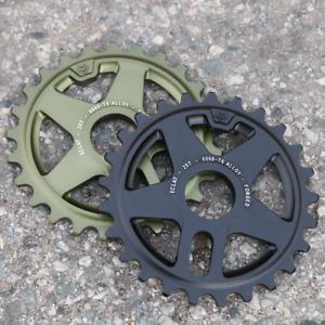 ECLAT BMX ONYX BICYCLE SPROCKET BLACK SANDBLAST PURPLE ODYSSEY PRIMO CULT FIT