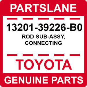 13201-39226-B0 Toyota OEM Genuine ROD SUB-ASSY, CONNECTING