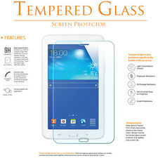 "Premium Tempered Glass Film For Samsung Galaxy Tab E 3 Lite 7.0"" T110 T111 T116"