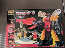 Takara Transformers Encore G1 09: Omega Supreme US Seller original release no KO