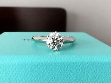 Tiffany & Co Platinum and Diamond Engagement Ring 1.08 ct H VS1Triple EXC $18k
