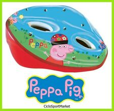 "Casco ""Peppa Pig"" per bici bambina / bimba - Circonferenza REGOLABILE 52 - 56 cm"