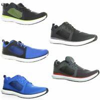 Reebok Mens Driftium Ride Ash Grey/Primal Red/White Running Shoes Size 13