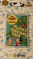 Disney Pluto 90th Anniversary Pin – Pluto's Christmas Tree – LE 2000 (Large Pin)