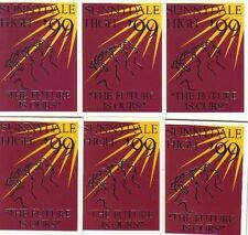 BUFFY SEASON 3 COMPLETE SET OF SIX YEARBOOK CARDS