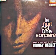 ++SIDNEY BECHET la nuit est une sorciere COFFRANT/TOLIVER/BAZIRE LP VOGUE VG++