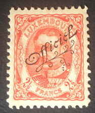 Timbre Luxembourg, n°112, 2f5c rouge, x, TBC, cote 250e.