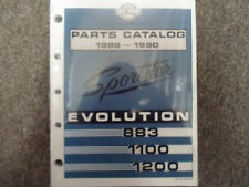 1988 1989 Harley Davidson Sportster Evolution Models Parts Catalog Manual NEW x