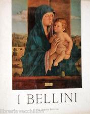 I BELLINI A cura di Eva Tea La Scuola Editrice 1965 Arte Rinascimento Veneziano