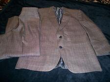 Vintage Men's Le Baron Gray Suit Size 39R