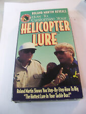 Rare 1994 ROLAND MARTIN Reveals How to Customize your Helicopter Lure VHS Tape