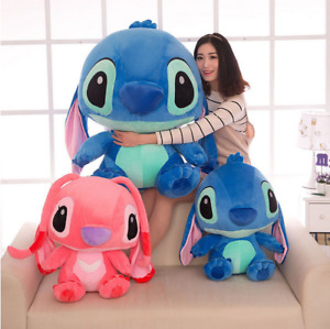 Lilo Stitch Disney Official Lying Soft Stuffed Plush Toy Kid Birthday Gifts B1