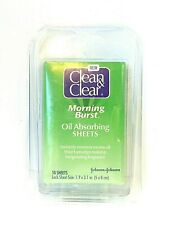Clean & Clear Oil Absorbing Sheets ~ Morning Burst ~ 50 ct New & Sealed