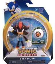 SHADOW Sonic the Hedgehog Jakks Flexible Bendable Action Figure SOCCER SPORTS
