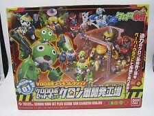 Keroro Gunso Sergeant Frog Plamo Collection DX01 Robot Set Plus Model Kit Bandai