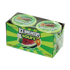 16 Ice Breakers SOURS - Green Apple/Watermelon 1.5oz tins