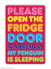 Brainbox Candy Penguin fridge magnet funny joke cheap gift birthday present
