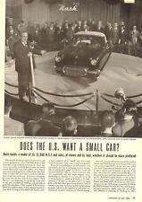 1950 vintage automobile photo article AD NASH N.X.I. Concept Compact Car 091217