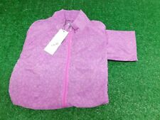 Adidas Womens Full Zip Purple Golf Jacket XS X-Small New NWT