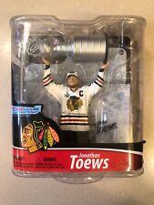 McFarlane NHL S28 Jonathan Toews Chicago Blackhawks Stanley Cup Hockey Figurine