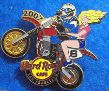 SAN FRANCISCO AMA SUPERCROSS BIKE *SPINNING WHEEL* RIDERS Hard Rock Cafe PIN LE