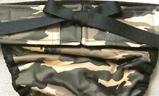 NEW PRODUCT! WATERPROOF LULIBOOS DESIGNER DOG PANTY BRITCHES DIAPER CAMOFLAGE