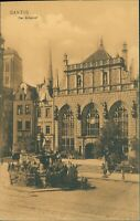 Ansichtskarte Danzig  Artushof  (Nr.9623)