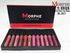 new Waterproof Long Lasting Lipstick morphe Set Matte Lip Gloss Makeup xmas gift