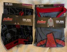 Men's Cool Johns Avengers XL Sleepwear Top And Bottom Set