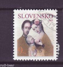 Slowakei Nr.  506  gest.  Die Familie  Rodina  -1