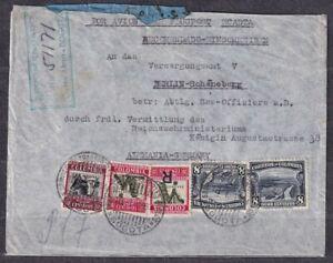 COLOMBIA. 1934/Bogota, registerdLetter-envelope/airMail by Scadta.