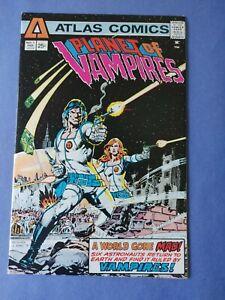 Planet of Vampires #1,  Atlas Comics (1975)