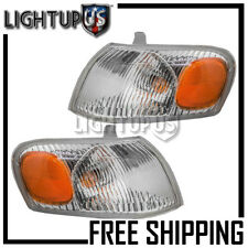 1998-2000 TOYOTA COROLLA Left Right Sides Pair Corner Parking Turn Lights