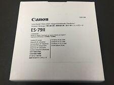New Canon Lens Hood ES-79 II 2681A001AA EF 50mm F1.0 L USM EF 85mm F1.2 L USM