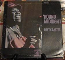 BETTY CARTER: Round Midnight SEALED Vinyl LP Roulette RARE SR-5001