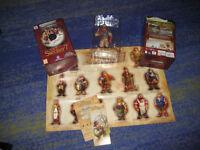 Die Siedler 7 - GOLD EDITION Erstausgabe mit Figur usw. Merchandise Paket