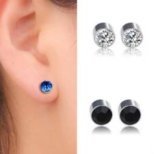 Magnets Diamonds Earless earrings MagneticIron Boys Girls Stud Earrings