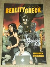 REALITY CHECK IMAGE BRUNSWICK BOGDANOVIC GRAPHIC NOVEL< 9781607068594