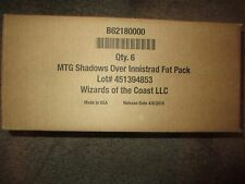 Shadows over Innistrad Fat Pack CASE Magic the Gathering MTG NEW Sealed Set of 6