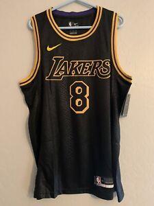 Kobe Bryant Black Mamba Los Angeles Lakers Jersey Size Medium New With Tags 8/24