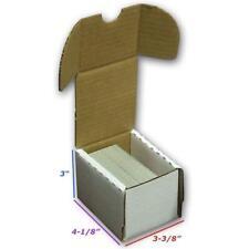 3 BCW 100 COUNT CORRUGATED CARDBOARD BOX