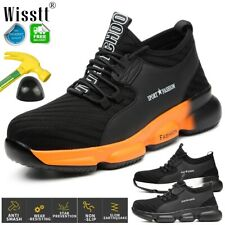 Safety Trainers Boots Shoes Steel Toe Lightweight Mens Womens Sneakers Footwear