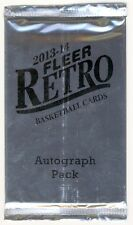 2013-14 Upper Deck Fleer Retro Basketball Bonus Autograph Hobby Pack