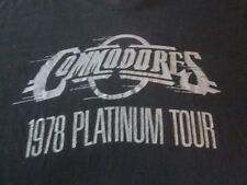 COMMODORES VINTAGE 1978 CONCERT TOUR TEE SHIRT SMALL