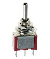 Mini Miniature Toggle Switch Model Railway SPST SPDT